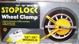 Stop Lock Wheel Clamp